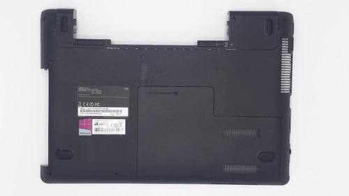 carcaça inferior notebook samsung np270e4e np275e4e séries
