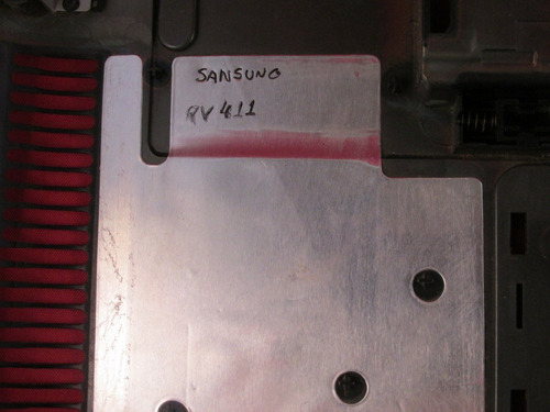 carcaça inferior samsung rv 411 cx 63