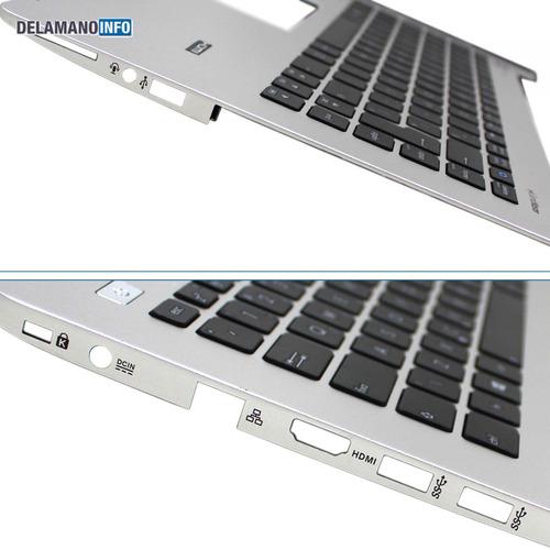 carcaça inferior + teclado notebook asus s451la s451 (10659)