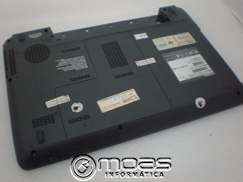 carcaça inferior toshiba satellite c645d