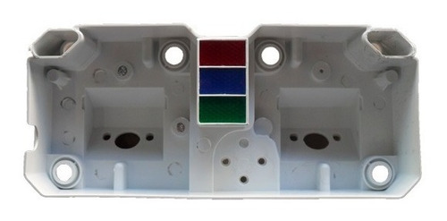 carcaça interna intermediária painel cb 400 / cb 450
