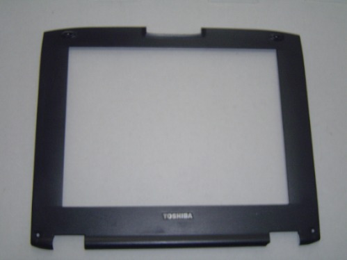 carcaça moldura lcd notebook toshiba 12.1 47u199991