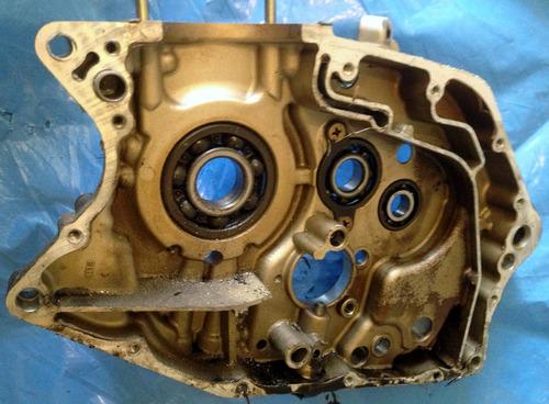 carcaça motor lado direito - intruder / yes 125cc