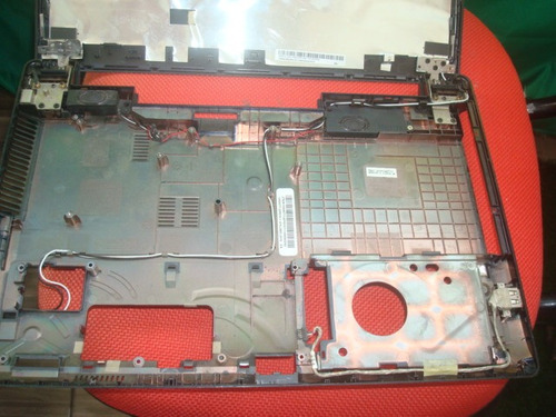 carcaça notebook completa asus x44c