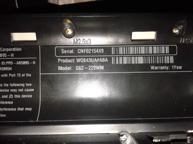 HP G62-229WM Notebook Driver FREE