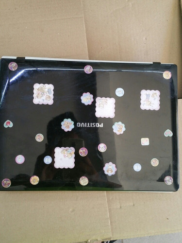 carcaça notebook positivo premium d210l sem dobradiça