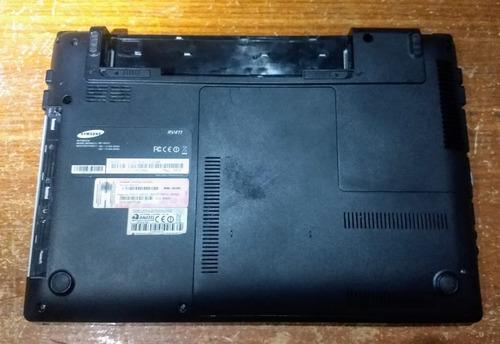 carcaça notebook samsung np rv411 cd1br