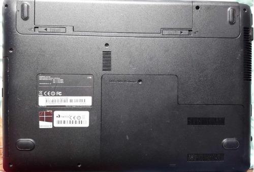 carcaça notebook samsung np270 e4e