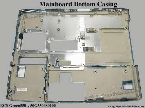 carcaça placa mãe notebook ecs pcchips 532