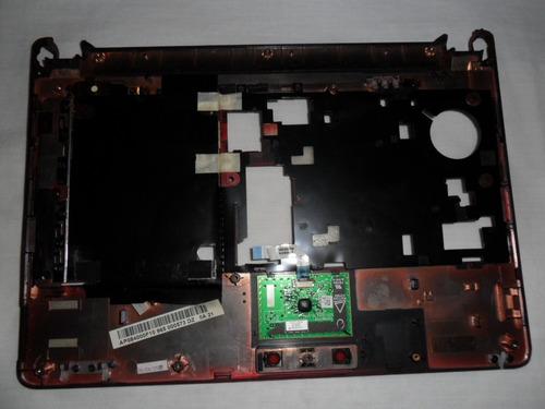carcaça  superior c/ touch netbook acer aspire one  original