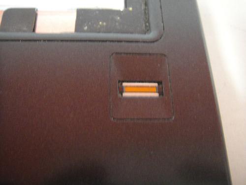 carcaça superior com mouse touch e finger intelbras i23
