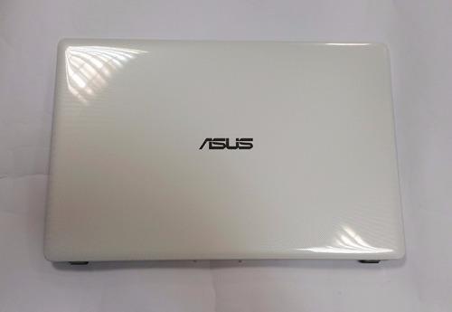 carcaça superior (da tela) notebook asus x550 nova completa