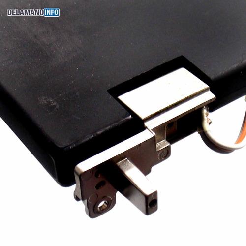 carcaça superior notebook lenovo thinkpad t410 usada (5730)
