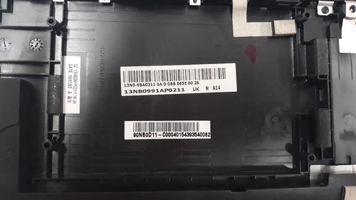 carcaça superior teclado asus z550 / z550la ( novo )