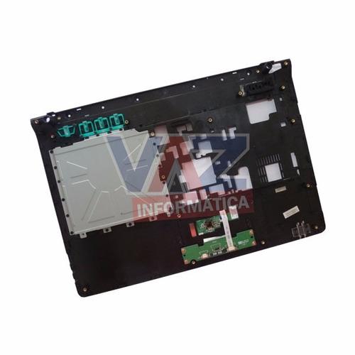 carcaça superior touchpad philco 14d 6-39-e4182-h12-c