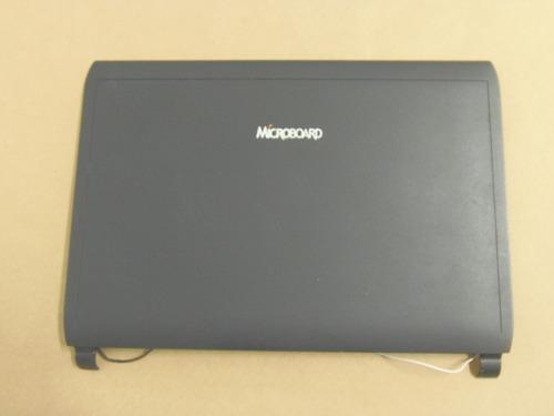 carcaça tampa da tela netbook microboard nb123x