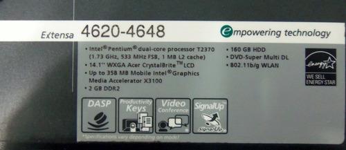 carcaça tampa superior base com touchpad acer extensa 4620z