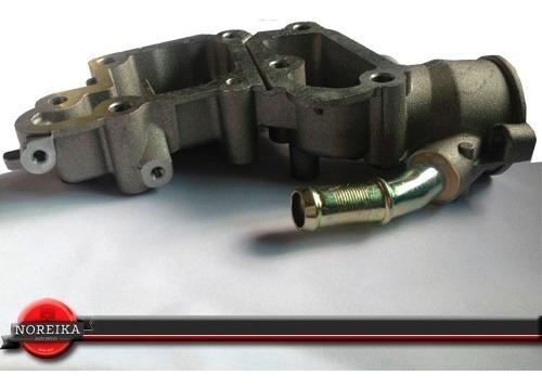 carcaça válvula termostática aluminio peugeot 206 vc615al