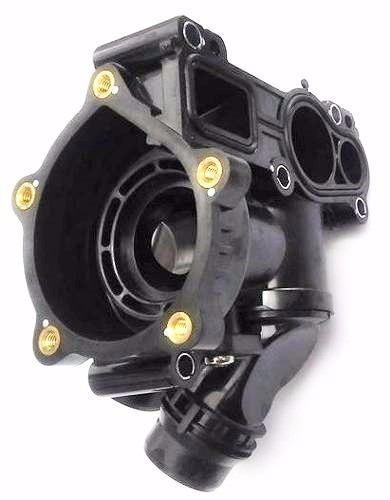 carcaça + válvula termostática jetta 2.0 turbo tsi 2013