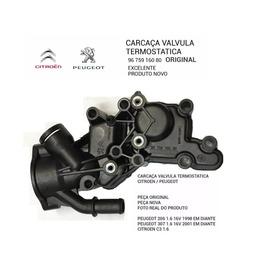 Carcaça Válvula Termostática Original Citroen C3 206 207 307