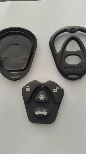 carcasa 3 piezas avital compatible con viper 3 y 4 botone
