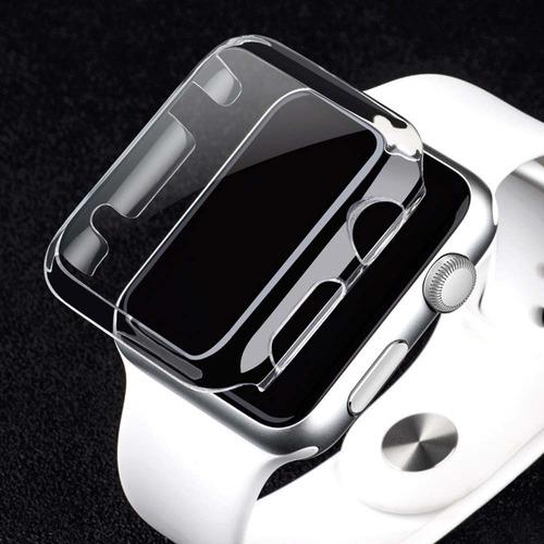 carcasa apple watch  anti golpe acrilica 42mm serie2