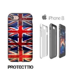 10c7e72d633 Carcasa Bandera Londres Funda iPhone 8 | 7 | Se | 6s | 6 | 5