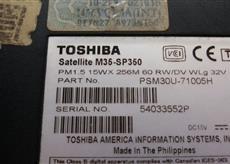 carcasa base toshiba m35-sp350  pm0013524
