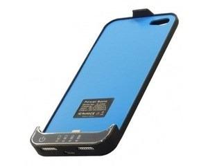 carcasa bateria externa iphone 5 5g 2200mah negra
