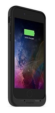 carcasa batería mophie juice inalámbrico para iphone 7 negra