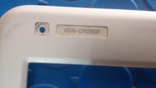 carcasa bezel sony vaio vgn-cr eagd1002040-1 pcg cover