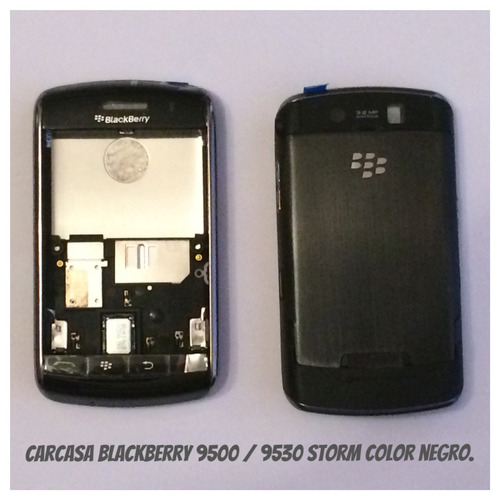 carcasa blackberry  9500/9530 storm, negro.