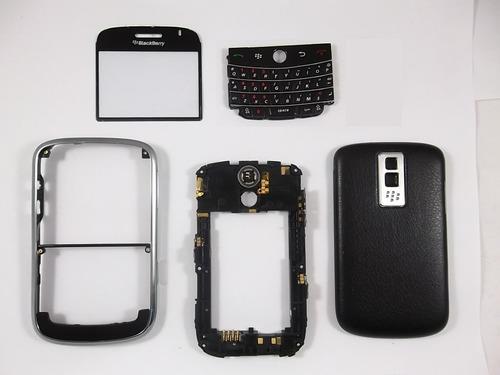 carcasa blackberry bold 9000 completa teclado botones pm0