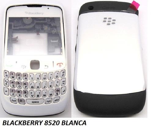 carcasa blackberry curve 8520/9300 completa ¡envio gratis!