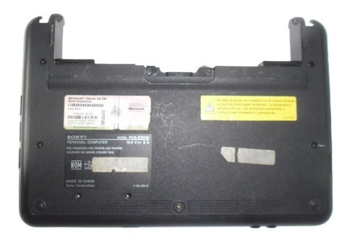 carcasa bottom case netbook sony pcg 21311u vpcm120al