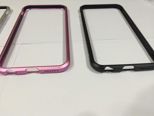 carcasa bumper iphone 6 6s aluminio alta calidad