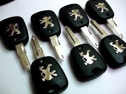 carcasa carcaza llave peugeot 206 dos botones nuevas