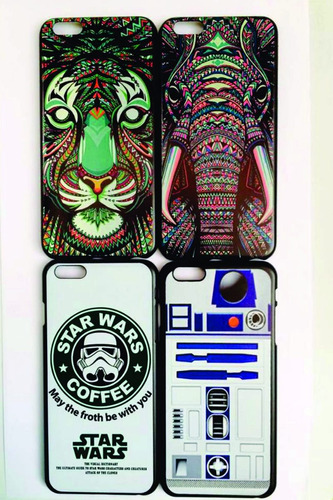 carcasa case animales star wars r2d2 iphone 6 plus 6s plus