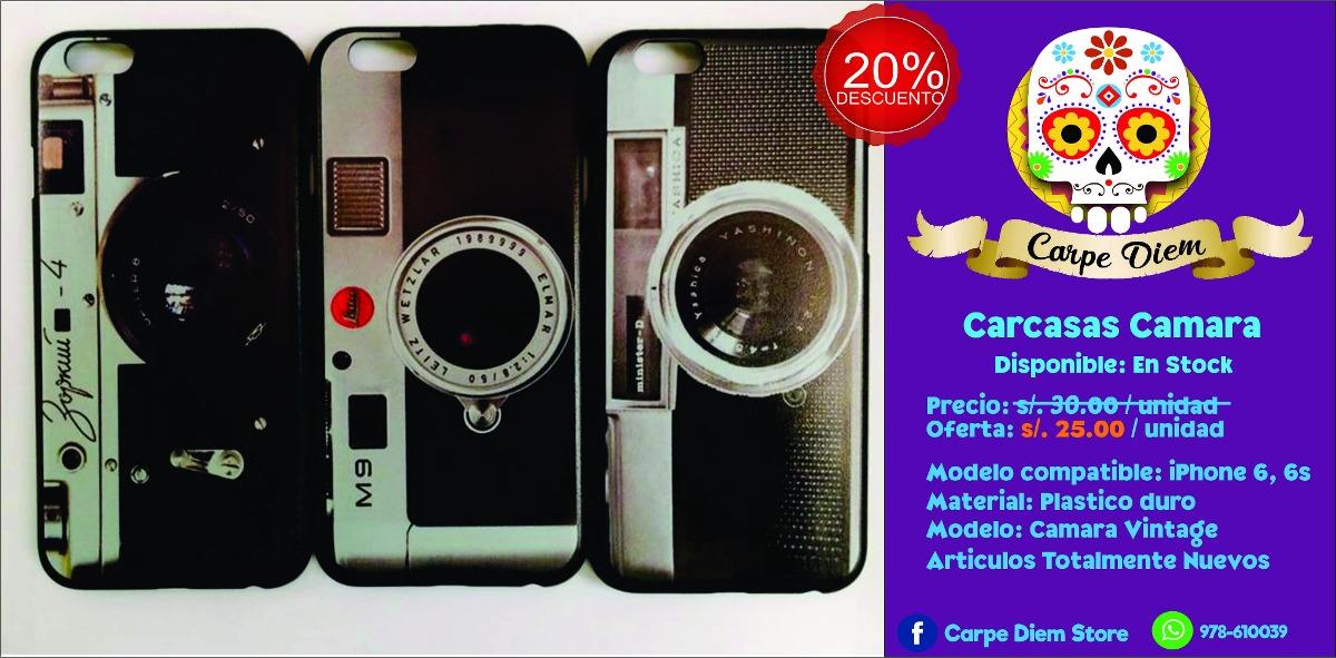 carcasa iphone 6 vintage