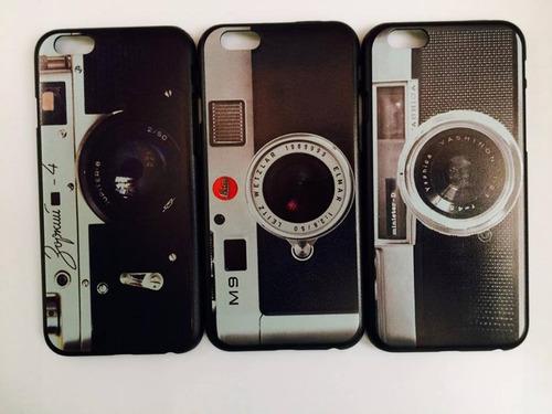 carcasa case camara retro vintage iphone 6 6s