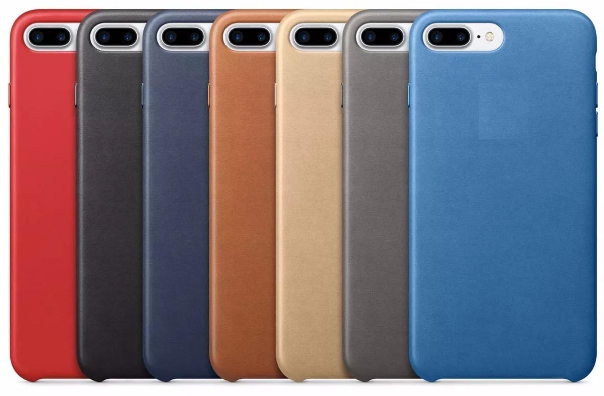 339bbf85c52 Carcasa Case Funda Cuero iPhone 7 7 Plus 8 8 Plus X - $ 999,00 en ...