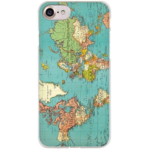 carcasa case mapa mundi iphone 5 - 5s mundo viajero