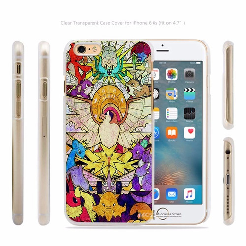 carcasa (case) pokemon go para iphone 5 5s se