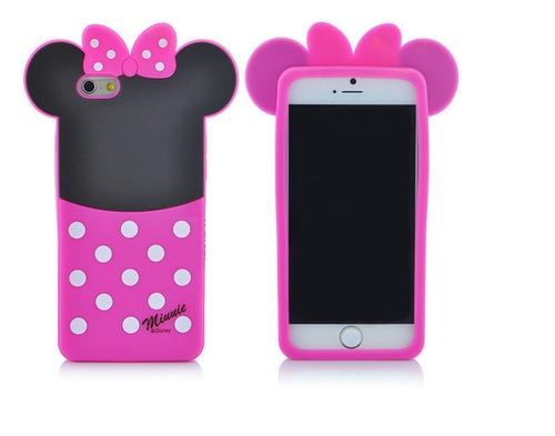 carcasa case protector minnie iphone 6 y 6s