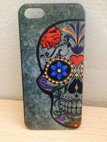 carcasa (case) sugar skull - catrina para iphone 5 5s se