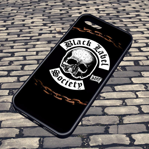 carcasa celular iphone - black label society logo