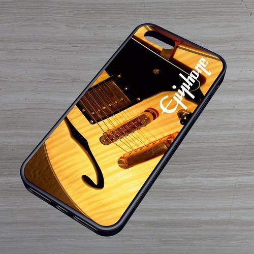 carcasa celular iphone -  epiphone guitar 1