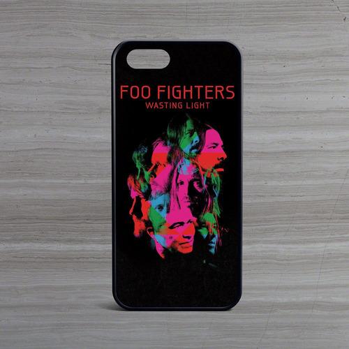 carcasa celular iphone - foo fighters wasting portada