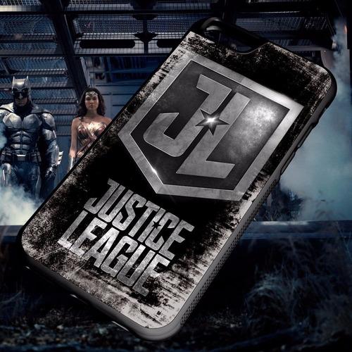 carcasa celular iphone - justice league-liga de la justicia