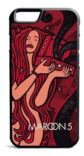 carcasa celular iphone - maroon 5-songs for jane
